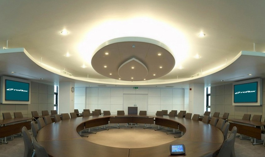 Reflex Av design a Council Chamber - Audio Visual Solution