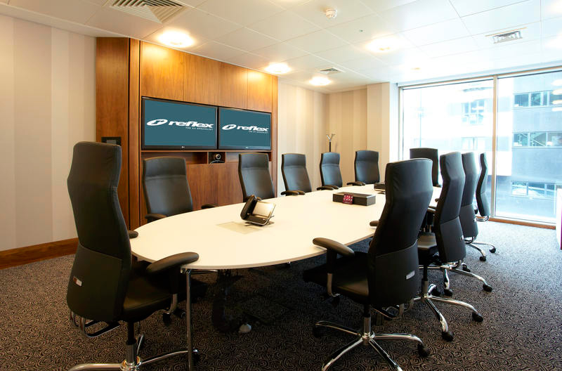 Board room AV solutions from Reflex