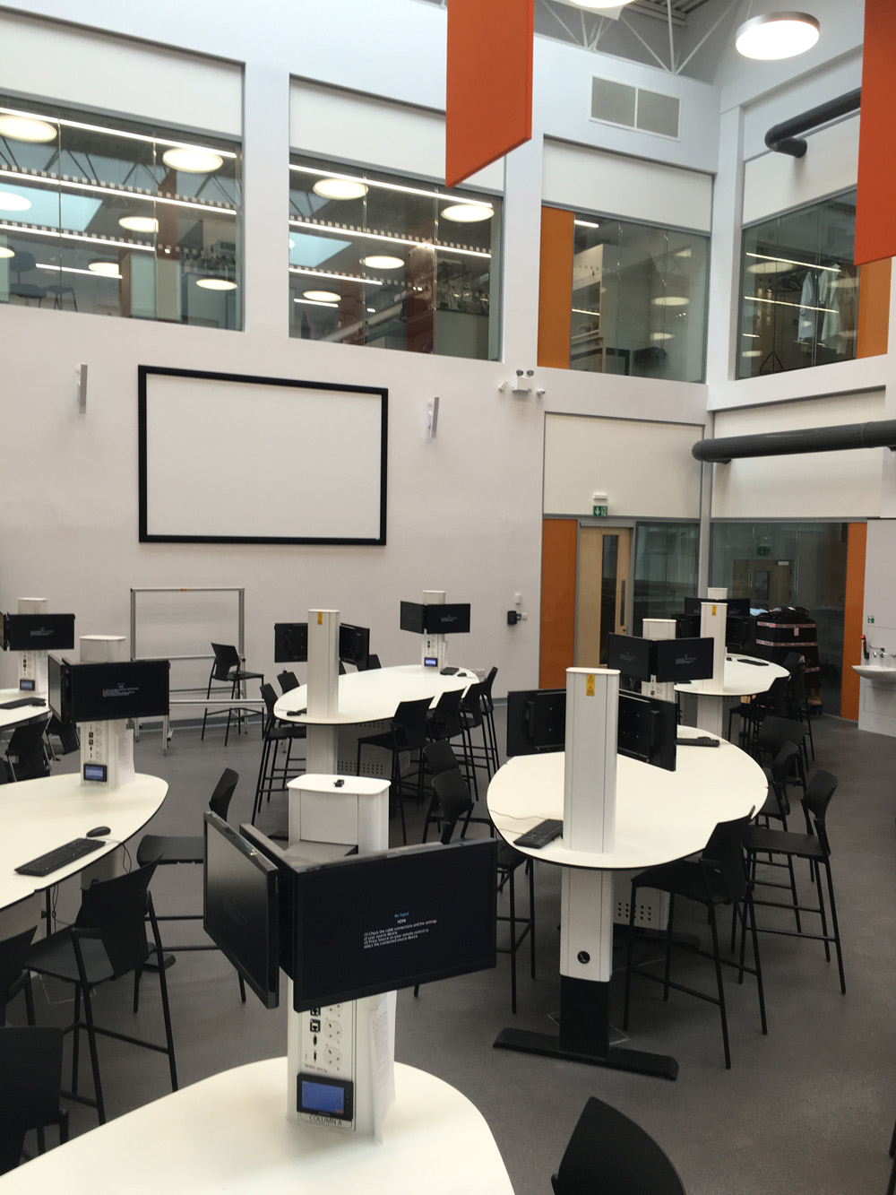 Furniture Design University London case study: queen mary university london | reflex av